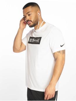 Nike Performance Shirts de Sport Dri-Fit blanc