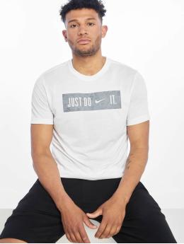 Nike Performance Shirts de Sport Dry DB Block 2.0 blanc