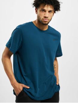 Nike Performance Shirts desportes Dry Crew Solid azul