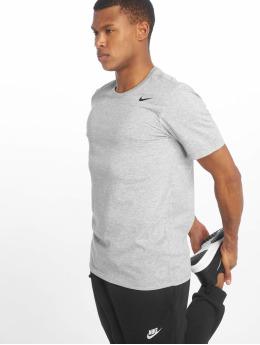 Nike Performance Shirts desportes Dry Training gris