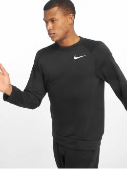 Nike Performance Shirts desportes Dry Fleece negro