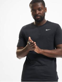 Nike Performance Shirts desportes Dri-Fit negro