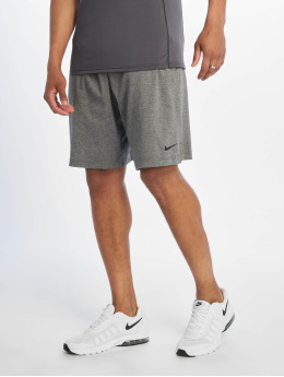 Nike Performance Short de sport Dri-Fit Cotton gris