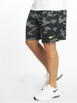 Nike Performance Shorts Dry Camo grau