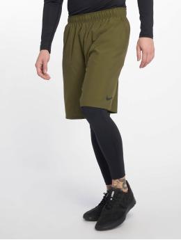 Nike Performance shorts Flex  olijfgroen