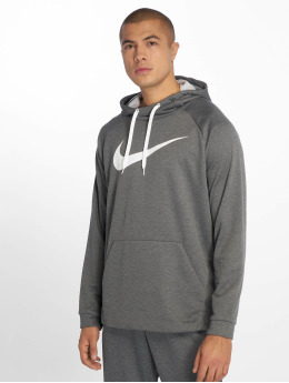 Nike Performance Sport Hoodies Dry Training grau