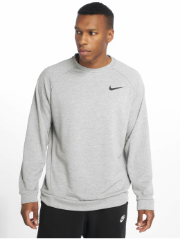 Nike Performance Sportshirts Dry Fleece Crew grau