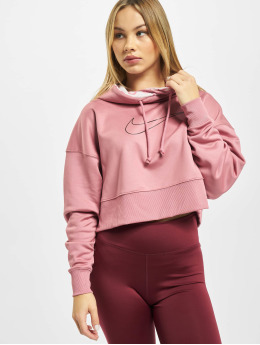 Nike Performance Sweat capuche Therma All TM Crop HD pourpre