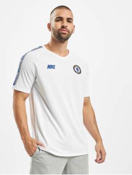 Nike Performance T-shirt Chelsea FC Breathe Squad bianco
