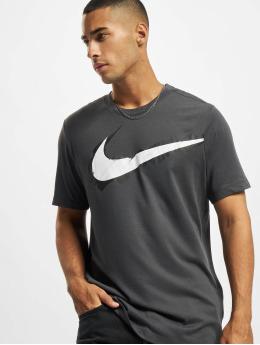 Nike Performance T-Shirt Logo grau