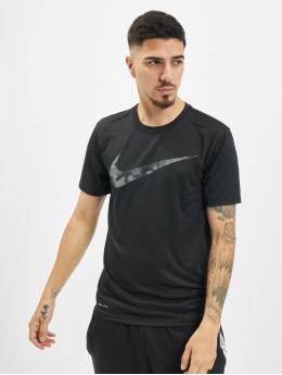 Nike Performance T-Shirt Dry Tee Leg Camo Swsh noir