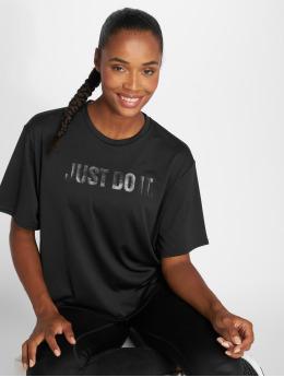 Nike Performance t-shirt Dry zwart