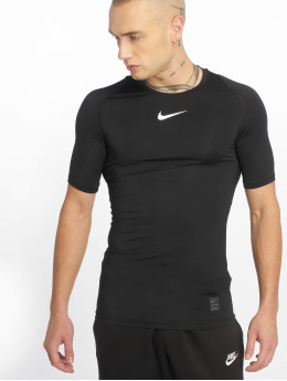 Nike Performance t-shirt Compressions zwart