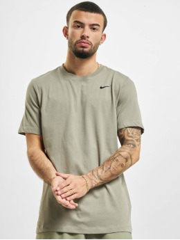 Nike Performance T-Shirty DF DFC Crew Solid zielony