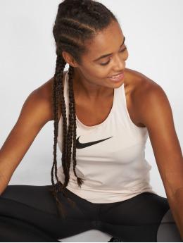 Nike Performance Tank Tops Pro bezowy