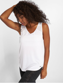 Nike Performance Tank Tops Breathe bianco