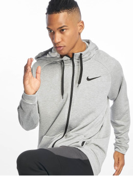 Nike Performance Trainingsjacken Dry grau