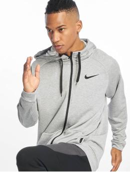 Nike Dry Hoodie Fleece Dark Grey Heather/Black/Black