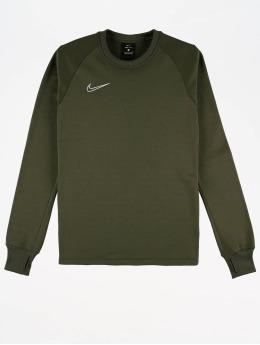 Nike Performance Urheilu T-paidat Therma Academy  oliivi