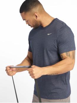 Nike Performance Urheilu T-paidat Dri-Fit sininen