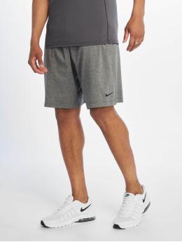 Nike Performance Urheilushortsit Dri-Fit Cotton harmaa