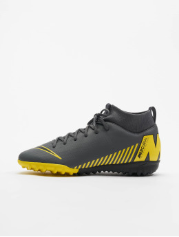 Nike Performance Veldvoetbalschoenen Junior Superfly 6 Academy GS TF grijs