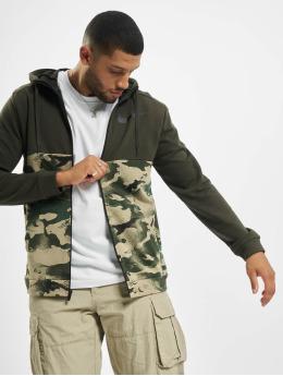 Nike Performance Zip Hoodie Dry Full Zip Camo zielony