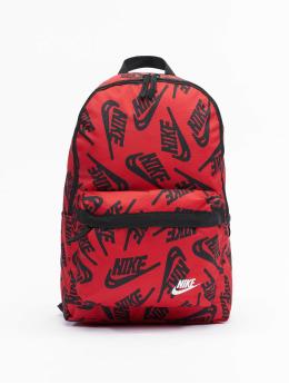 Nike Plecaki Heritage 3.0 AOP HO21  czerwony