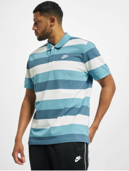 Nike poloshirt Matchup Stripe Polo blauw