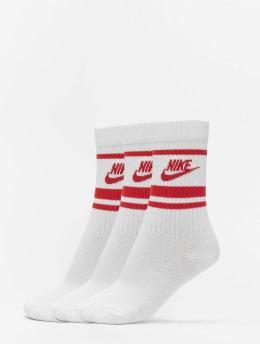 Nike Ponožky Crew Essential Stripe biela