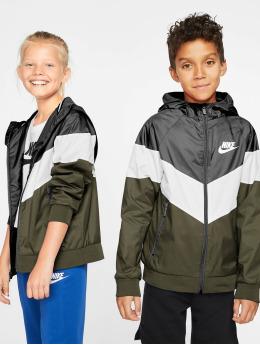 Nike Prechodné vetrovky Transition  èierna