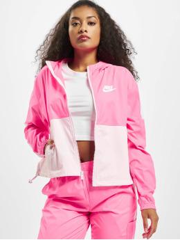 Nike Prechodné vetrovky Woven  pink