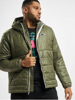 Nike Prechodné vetrovky Synthetic Fill Fleece zelená