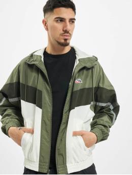 Nike Prechodné vetrovky Nsw Hooded zelená