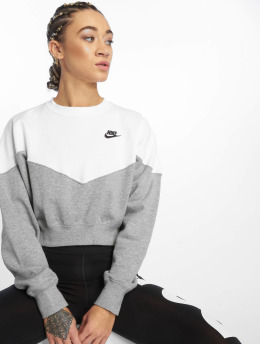 Nike Sportswear Sweatshirt Dk Grey Heather/White/Black