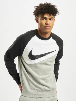 Nike Pullover Swoosh Crew BB grau
