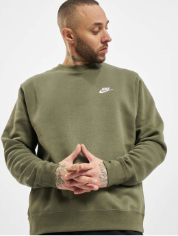 Nike Pullover Club Crew BB green