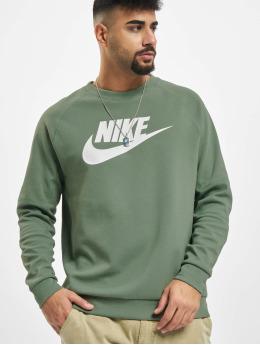 Nike Pullover Crew Fleece HBR grün