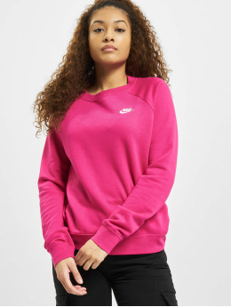 Nike Pullover W Nsw Essntl Flc  pink