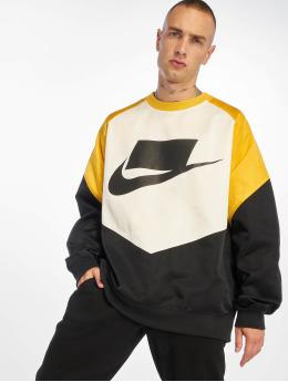 Nike Pulóvre Crew Woven èierna
