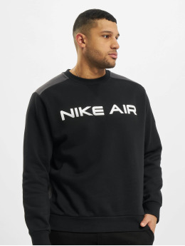 Nike Pulóvre M Nsw Air Flc Crew èierna