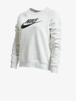Nike Pulóvre Essential Crew Fleece HBR  šedá