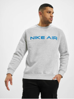 Nike Pulóvre M Nsw Air Flc Crew šedá