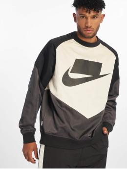 Nike Pulóvre Crew Woven béžová