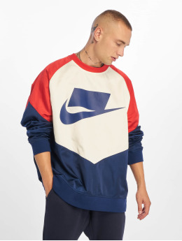 Nike Pulóvre Crew Woven modrá