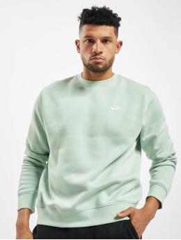 Nike Pulóvre Club Crew BB  zelená