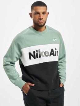 Nike Pulóvre Air Crew Fleece zelená