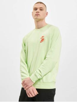 Nike Pulóvre Crew Worldtour zelená