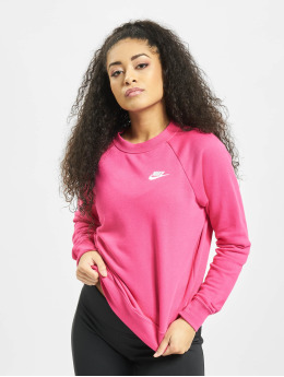 Nike Puserot Essential Crew Fleece vaaleanpunainen