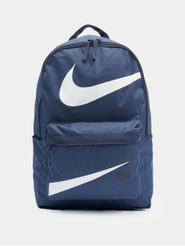 Nike Rucksack Heritage Swoosh blau